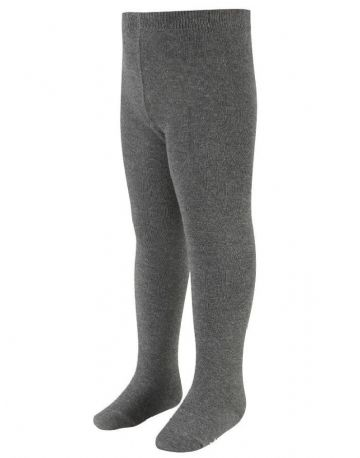 Grey Cotton Rich Tights (2 pack)